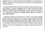 PROCESSO SINDACO : I COMMENTI POLITICI