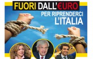 IL M5S: FUORI DALL'EURO