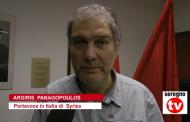 IL PORTAVOCE DI SYRIZA A SEREGNO