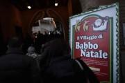 BABBO NATALE VITTIMA DEI VANDALI A LISSONE