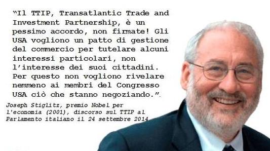 """"""" COSA SAPPIAMO DEL TRATTATO TRANSATLANTICO TTIP ? """""""