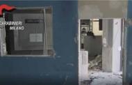 COLOGNO –CC BLOCCANO4 LADRI IN FUGA: AVEVANO FATTO ESPLODERE UN BANCOMAT ( video )