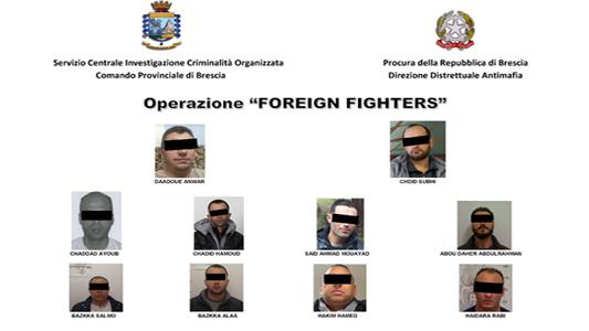 BRIANZA – TERRORISMO ISLAMICO: STRUTTURA CRIMINALE ANCHE IN BRIANZA