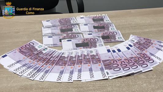 COMO – LA GDF SEQUESTRA DECINE DI MIGLIAIA DI EURO A BROGEDA