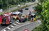 MEDA – INCIDENTE MORTALE : 86ENNE PERDE IL CONTROLLO DELL'AUTO E SI RIBALTA