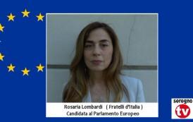 ELEZIONI EUROPEE: INTERVISTA A ROSARIA LOMBARDI  ( FRATELLI D'ITALIA )