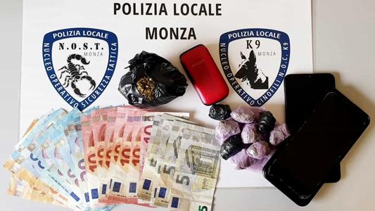 MONZA – ARRESTATO PUSHER NIGERIANO CON DROGA E SOLDI