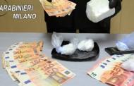MONZA – PUSHER ITALIANO SORPRESO CON 4 ETTI DI COCAINA