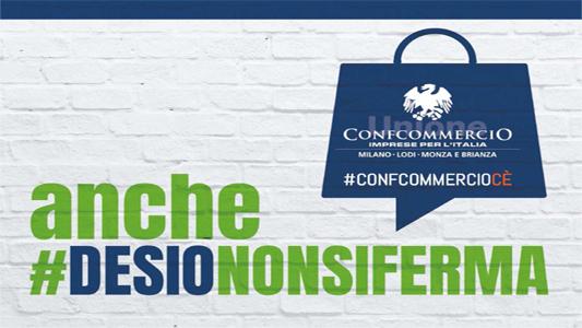 """DESIO – """"DESIONONSIFERMA"""" COMUNE E CONFCOMMERCIO UNITI CONTRO L'EMERGENZA"""