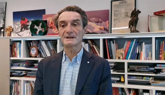 """BRIANZA LOMBARDIA- CORONAVIRIS: FONTANA """"LA LINEA DEI CONTAGI NON STA CRESCENDO """""""