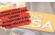 SEREGNO – DA LUNEDI' 6 APRILE SI POSSONO RICHIEDERE I BUONI SPESA