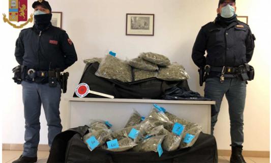 LIMBIATE – LA POLIZIA SEQUESTRA OLTRE 80 KG DI DROGA