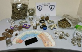 MONZA – ARRESTATO PUSHER 25ENNE: IN CASA NASCONDEVA OLTRE 3 KG DI DROGA