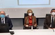 VIMERCATE – LA VICEPRESIDENTE DELLA REGIONE LETIZIA MORATTI VISITA L'OSPEDALE