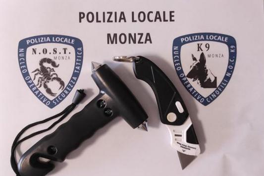 MONZA – POLIZIA LOCALE : CONTROLLI ANTIDROGA. DENUNCIATE DUE PERSONE